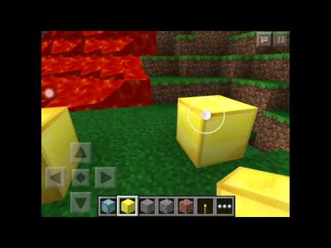 How to build the nether portal in minecraft pocket edition.