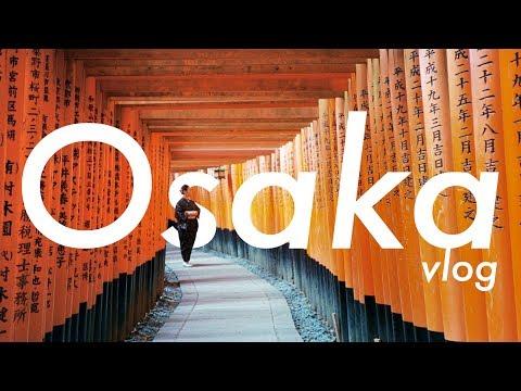 2 Days in Osaka + Kyoto | Travel Vlog