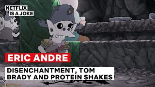 Eric Andre on Disenchantment, Tom Brady and Protein Shakes