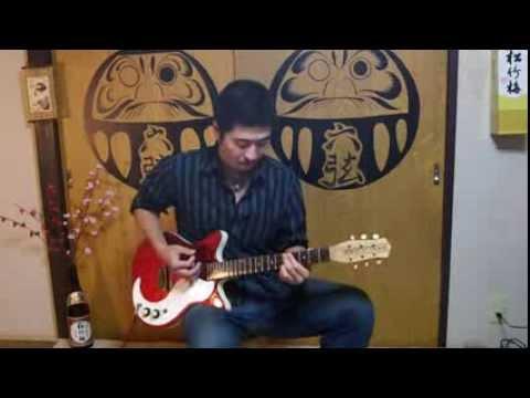 Green-Tinted Sixties Mind/MR.BIG solo guitar(TAB譜有り)