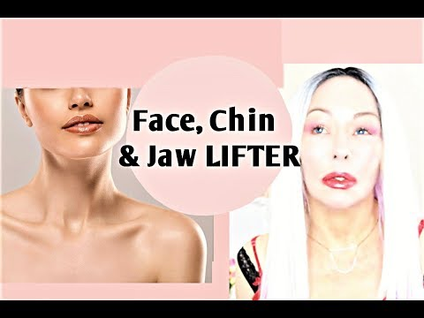 FACE-CHIN AND JAW LIFTER Plus how Peptides works on the skin