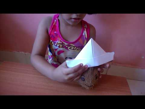 How to make a Paper Hat with simple and easy folds