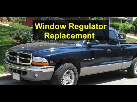Basic window regulator replacement, Dodge Dakota - VOTD