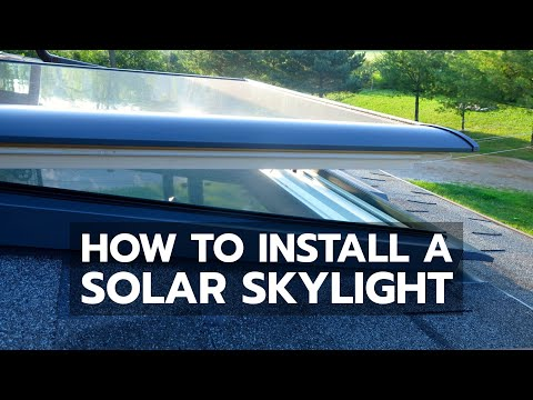 How To Install A Velux Solar Skylight
