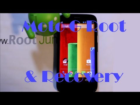 Moto G root and CWM recovery install