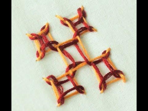 Hand Embroidery: Gujrati Stitch