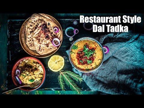 Restaurant Style Tadka Dal Recipe | How To Make Dal Tadka (दाल तड़का) | Gluten-Free | Vegan