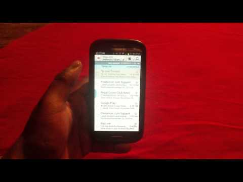 How to Turn off email notifications on Samsung Galaxy S3