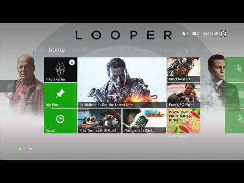Xbox 360 Dashboard   Change your Xbox 360 theme