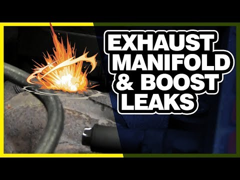 How to Find Exhaust Manifold and Boost Leaks | Where is My Power Going 🔧