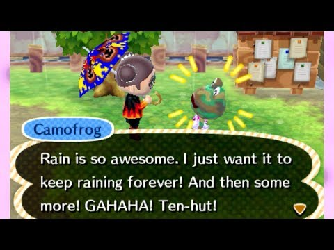Let's Play Animal Crossing New Leaf: Welcome Amiibo - #59 The Frog Hunters