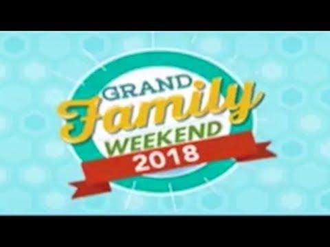Grand Family Weekend 2018: Fun & Run