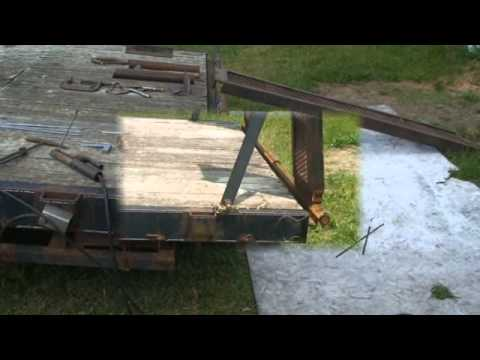 Trailer Ramp modification