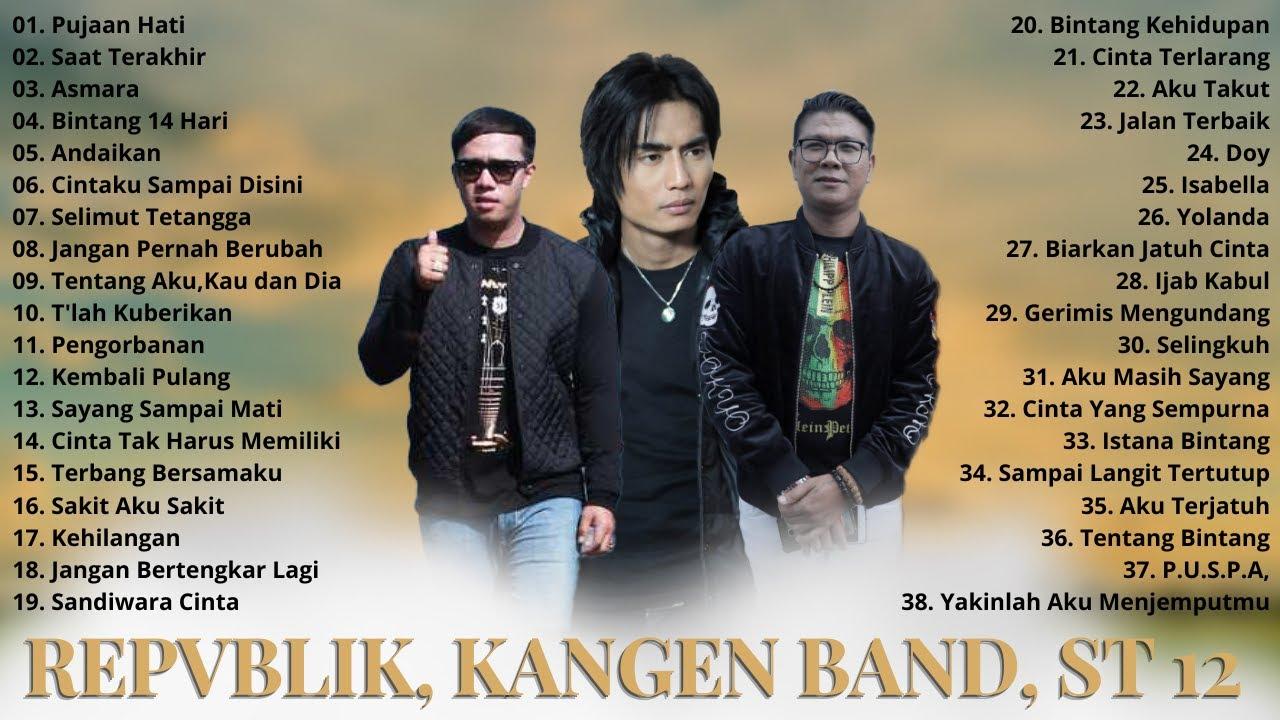 Download Lagu Terbaik Repvblik, Andika Kangen, ST 12 - 38 Lagu Indonesia Tahun 2000an Hits Terpopuler MP3 Gratis