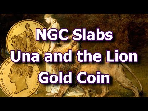 NGC Slabs Rare and Valuable Una and the Lion Gold Coin