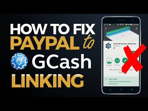 How to Fix Paypal to GCash Linking Problem