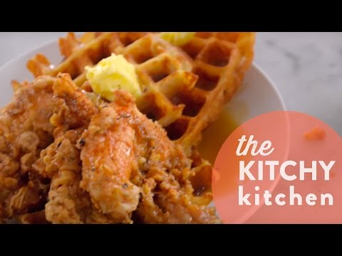 How to Make Henry's Chicken and Waffles // Living Deliciously