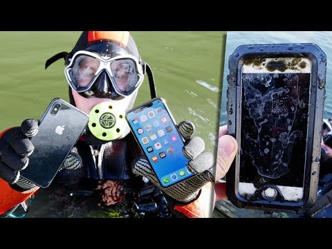 Scuba Diving With iPhone X! Found Lost iPhone!