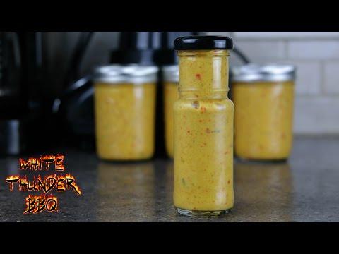 Yellow Hot Sauce Recipe | Mustard Based Hot Sauce