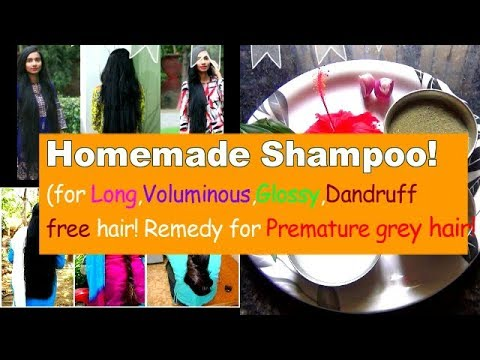 Homemade Herbal Shampoo and Conditioner in Tamil - To Get Long,Black,Shiny,Healthy Voluminous Hair