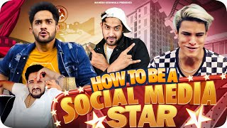 HOW TO BE A SOCIAL MEDIA STAR! FT @RIZ XTAR
