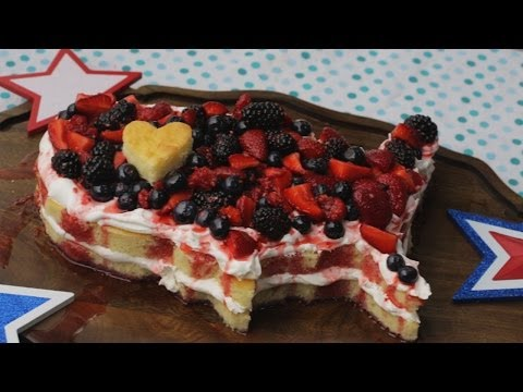 How to Make a 4th of July Cake