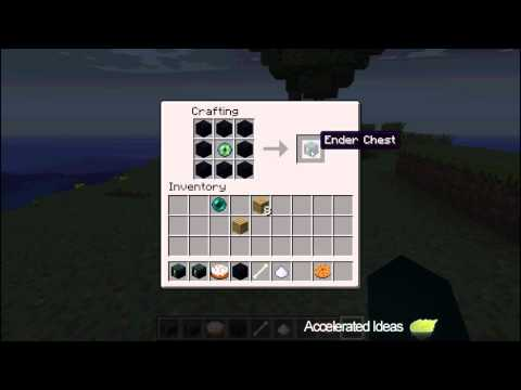 Minecraft Ender Chest (12w21a) - Crafting [HD]