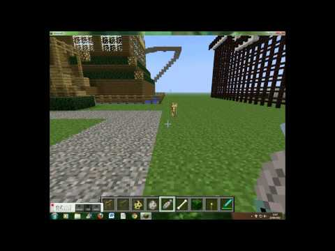 Minecraft: How to tame wolves and ocelots.