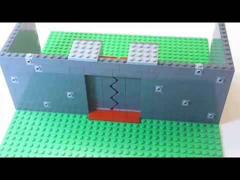 How To Build LEGO Sliding Doors