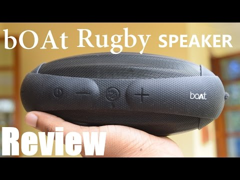 Boat Rugby Review // Bluetooth Speaker //AUDIO TEST