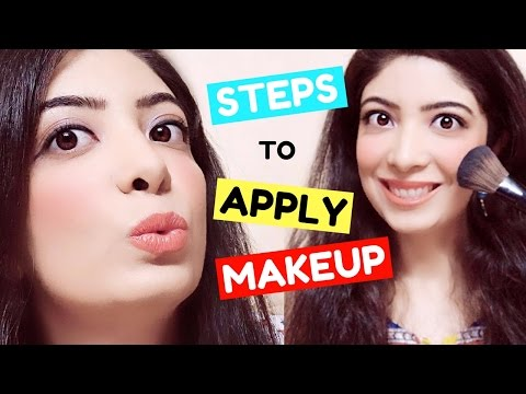 Step by Step Makeup for Beginners in Hindi | How to Apply मेकअप | Tutorial & Tips | Bhawna Ahuja