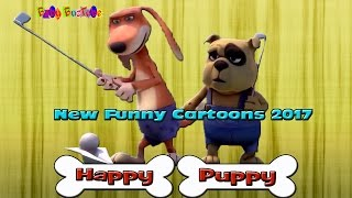 Baby BuzTube presents ❤️ HAPPY PUPPY :Episode 2: ❤️New funny cartoons for kids 2017 HD❤️❤️