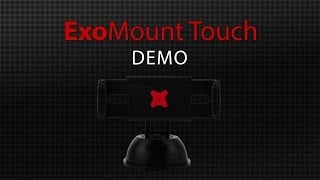 New Exomount Touch Iphone Car Mount For Galaxy Smartphones All Surface Mount