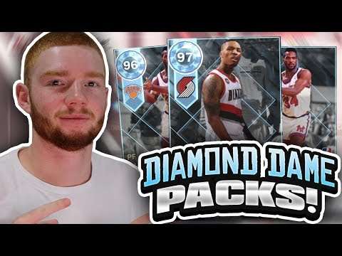 DIAMOND DAMIAN LILLARD PACKS! THROWBACK PLAYOFF MOMENTS PACK OPENING!! (NBA 2K18 MYTEAM)