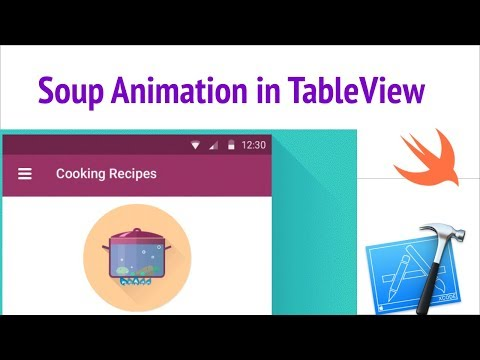 How to Built Pull To Make Soup Animation in TableView Swift iOS | PullToMakeSoup tableview ios