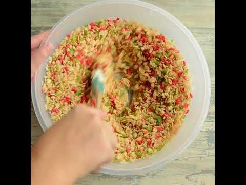 Rice Krispies Reindeer Snack Mix Recipe