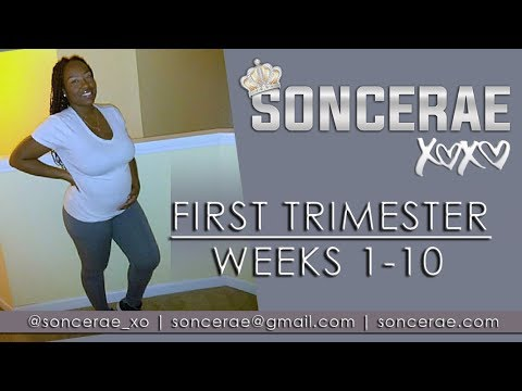 My First Trimester Pregnancy: Weeks 1-10 | Miscarriage, Ultrasound & Symptoms