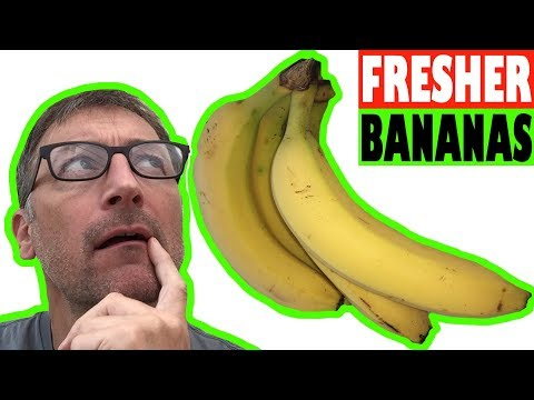 How to Stop Bananas Ripening too Fast