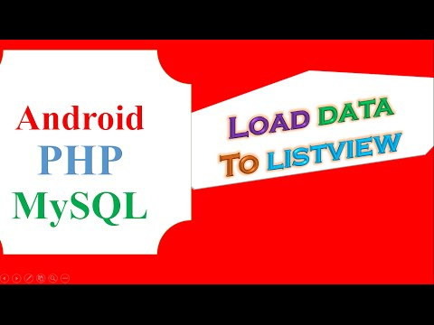 Android Simple MySQL and PHP - Fetch data to List