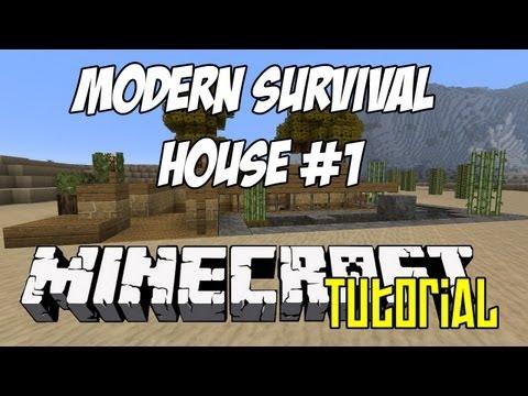 Minecraft Tutorial HD - Modern Survival House 1