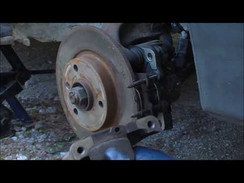 How to Replace Brake disc and Pads Αντικατάσταση Δίσκου και Τακάκια Φρένων