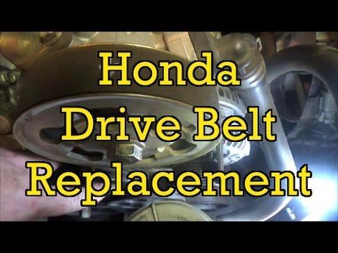 Honda Accord 2.4L Drive Belt (Serpentine) Replacement (I4) 2004 (2003-2007 Similar)