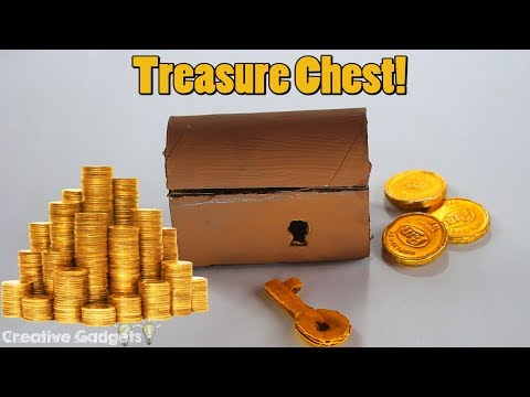How to make a Treasure Chest with Chocolate Coins!
