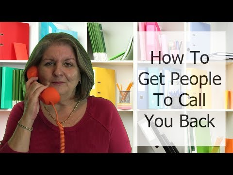 How to Get People To Call You Back When You Leave A Voice Mail