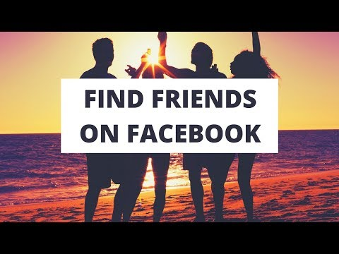 Find friends on Facebook using contact, email, contacts and other interesting ways - Facebook Online