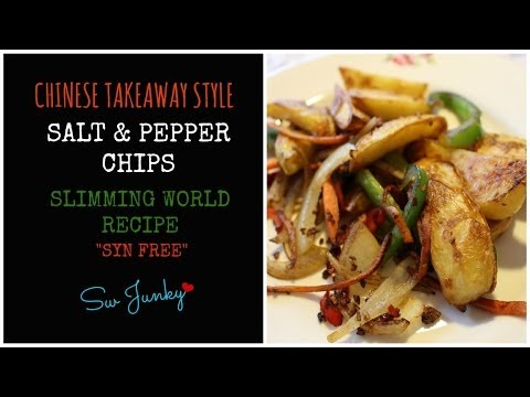 Slimming World Chinese Style Salt & Pepper Chips