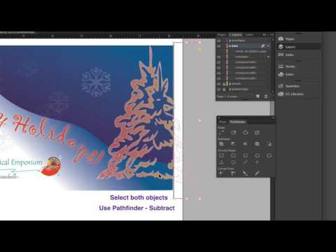Cropping a compound path vs. a placed graphic in InDesign CC