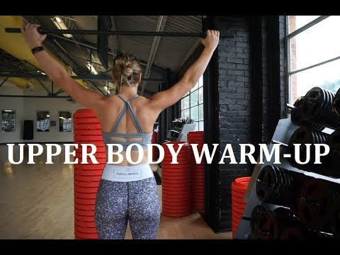Upper Body Warm-Up│Dynamic Stretching BEFORE the Workout!