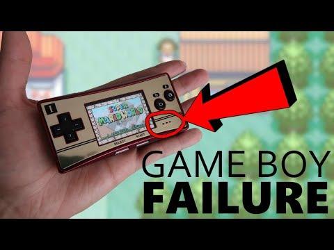 Why the Game Boy Micro failed