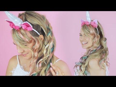 Unicorn Mane - AKA The Unicorn Ponytail! - KayleyMelissa